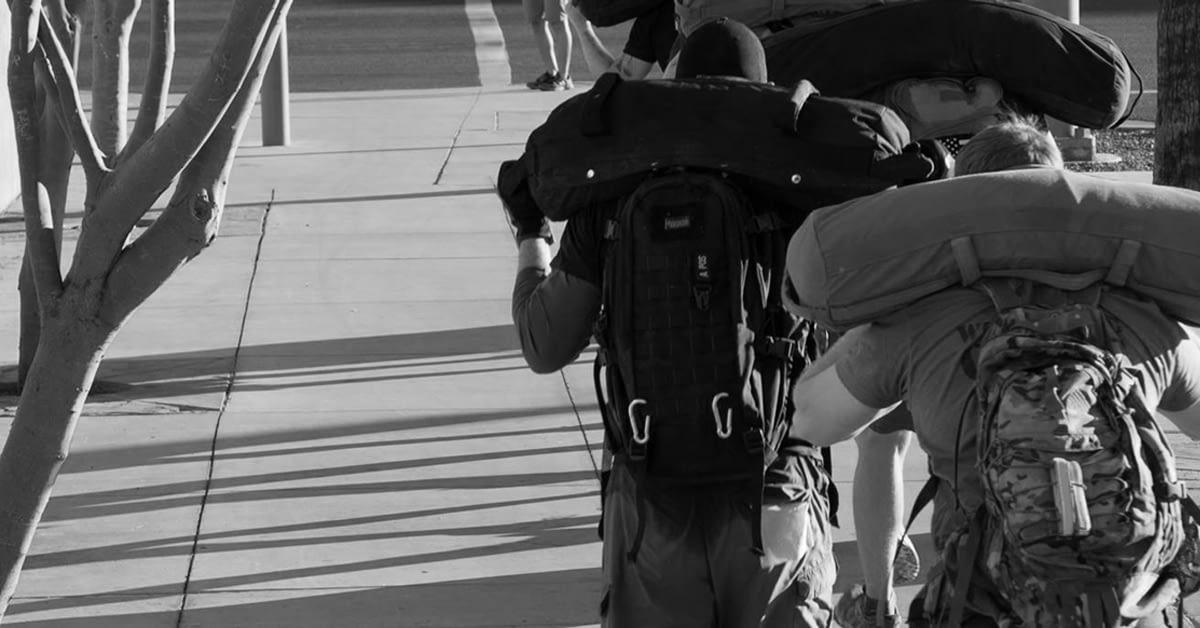 Sandbag Carrying