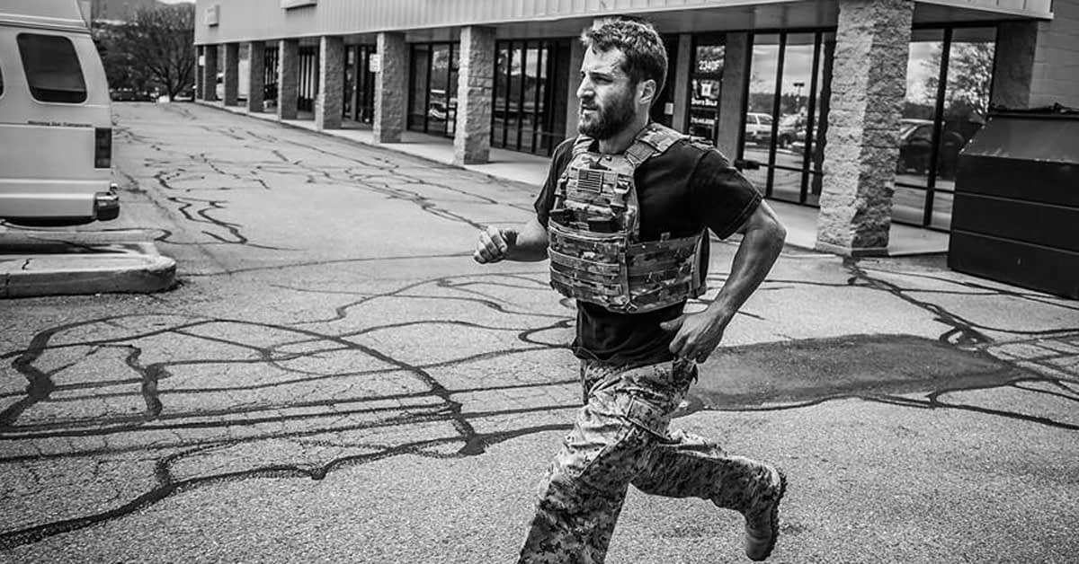 Running in a vest